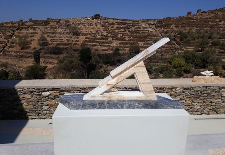 Stabilita Geometrica / Γεωμετρική Ισορροπία - Έργο του Valentino Vaglio