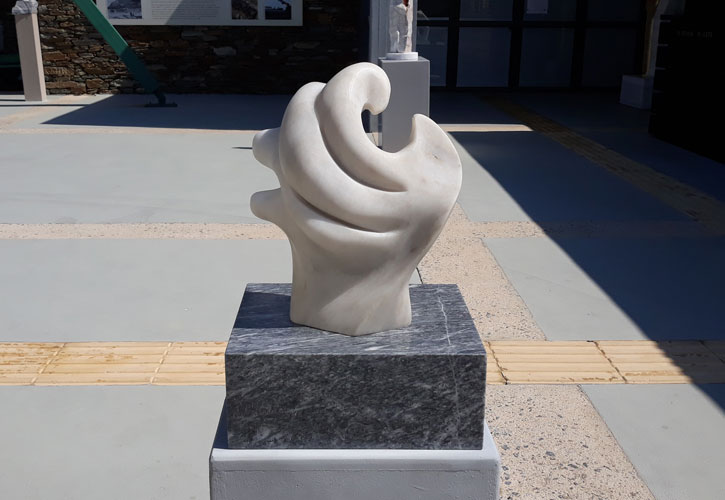 Il suono del mare / Ο ήχος της θάλασσας - Έργο της Noemi Lucia Puntorno