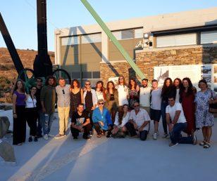 Έκθεση Γλυπτικής των σπουδαστών που συμμετείχαν στο Σεμινάριο Μαρμαρογλυπτικής